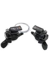 MICROSHIFT Microshift Thumb-Tap Shifters-TS51-7, 3 X 7 speed Shifter