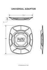 Quad Lock Quad Lock Universal Adaptor
