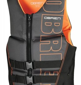 O'Brien Flex V-Back - Black/Orange
