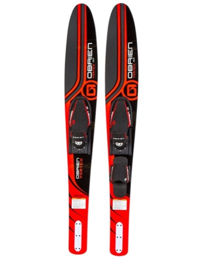 O'Brien Vortex Combo Ski with X-7 Binding (Red) 2018