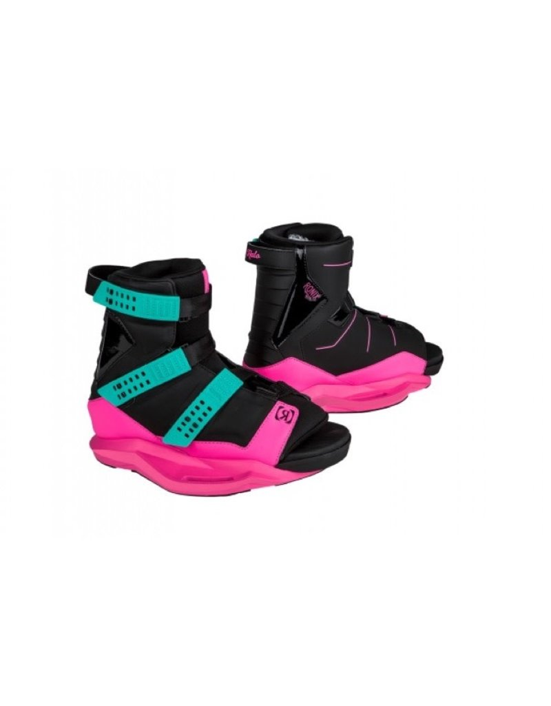 Ronix Quarter Til Midnight Wakeboard w/ Halo Wakeboard Boot 2019