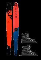"Radar 67"" Graphite Vapor Ski w/ Double Vector BOA Standard 2019"