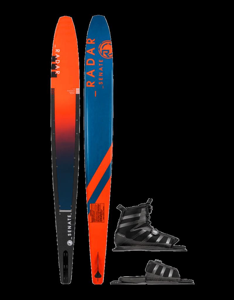 Radar Alloy Senate Slalom Ski w/ Vector BOA Boot and BOA ARTP 2019