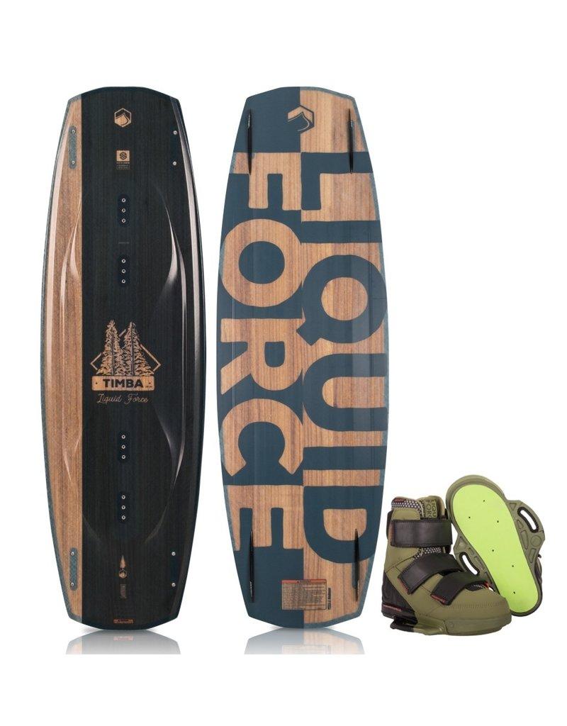 Liquid Force Timba Wakeboard w/ Vantage Boot 2019