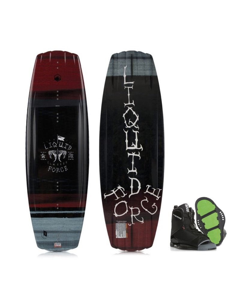 Liquid Force Classic Wakeboard w/ Transit Boot 2019