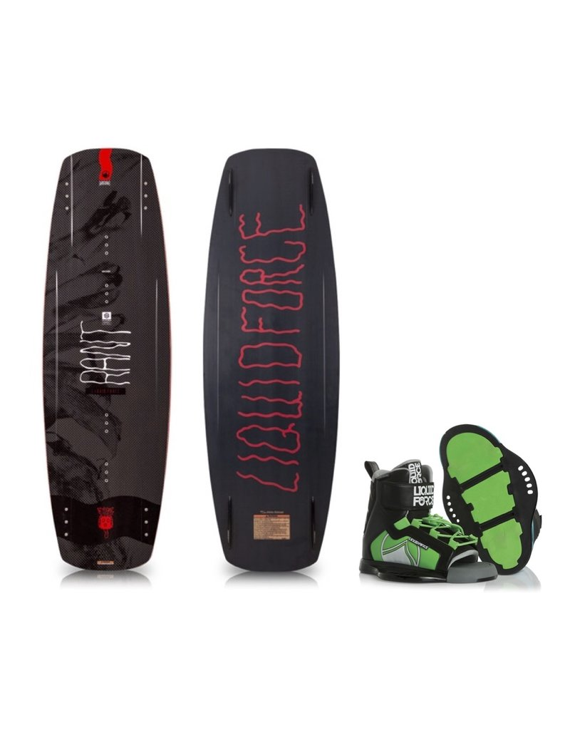 Liquid Force Rant Wakeboard w/ Rant Boot 2019