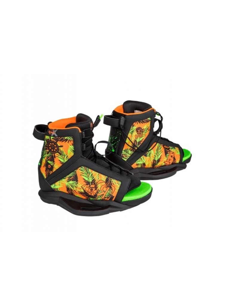 Ronix Vision Wakeboard w/ Vision Wakeboard Boot 2019