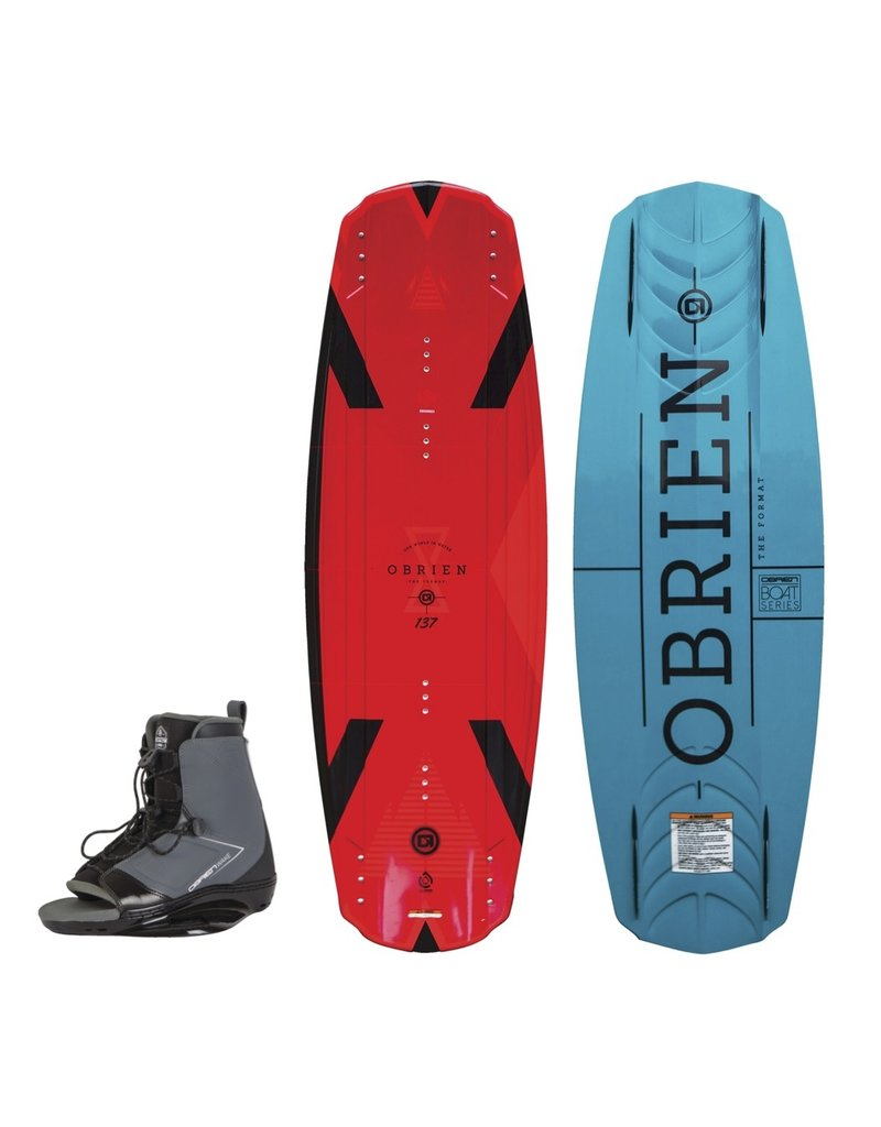 O'Brien Format Wakeboard w/ Link Boot 2019