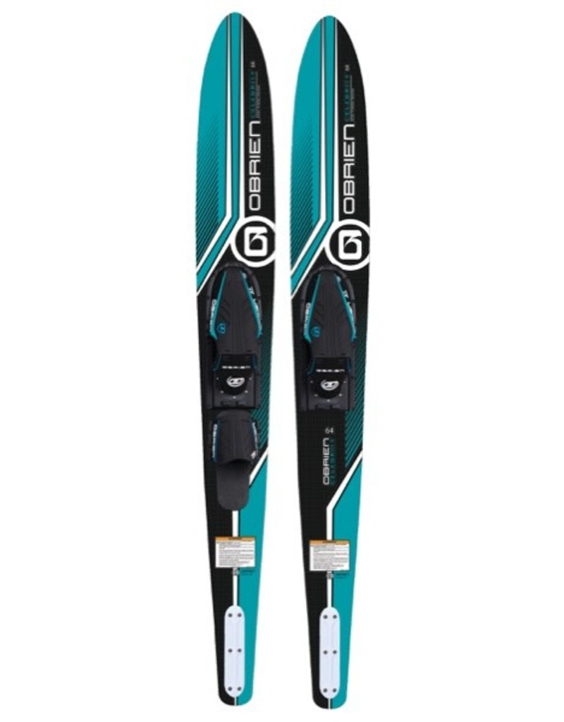 "O'Brien Celebrity 64"" w/JR X-7 & RT Combo Skis"