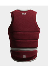 Follow Surf Edition Ladies Vest - Redwine