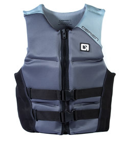O'Brien Vest, Mens V-Back Grey