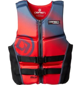 O'Brien Vest, Mens V-Back Red