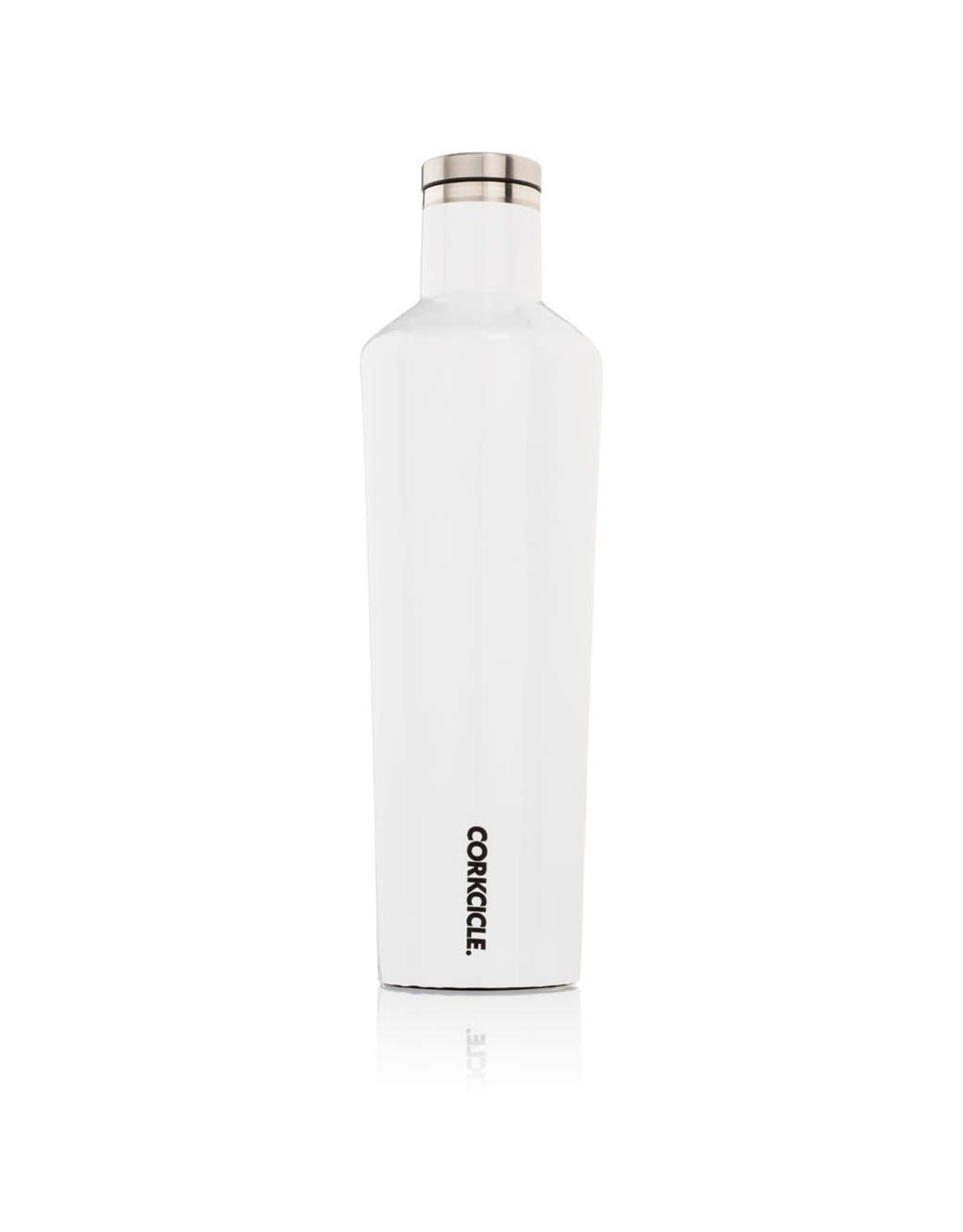 Corkcicle Canteen - 25oz Gloss White