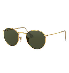 Ray Ban Round metal arista / crystal  green