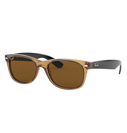 Ray-Ban NEW WAYFARER honey / crystal brown polar