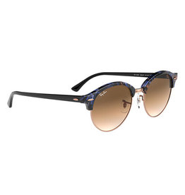 Ray Ban Club Round Spot Brown / Brown