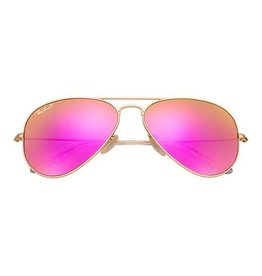 Ray Ban Aviator Large Metal Pink Mirror Polarized