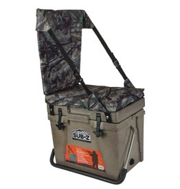 O'Brien 23QT Tan Cooler w/Camo Seat
