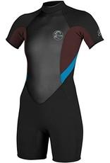 O'Neill Womens Bahia SS Spring Short Wetsuit