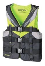 "O'Brien Boys Teen Nylon Vest (28""-32"") - Lime"
