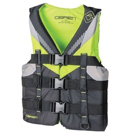 "O'Brien Boys Teen Nylon Vest (28""-32"") - Lime"