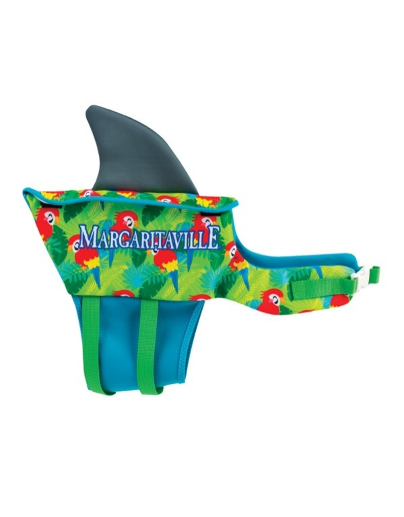 O'Brien Margaritaville Pet Vest (Green)
