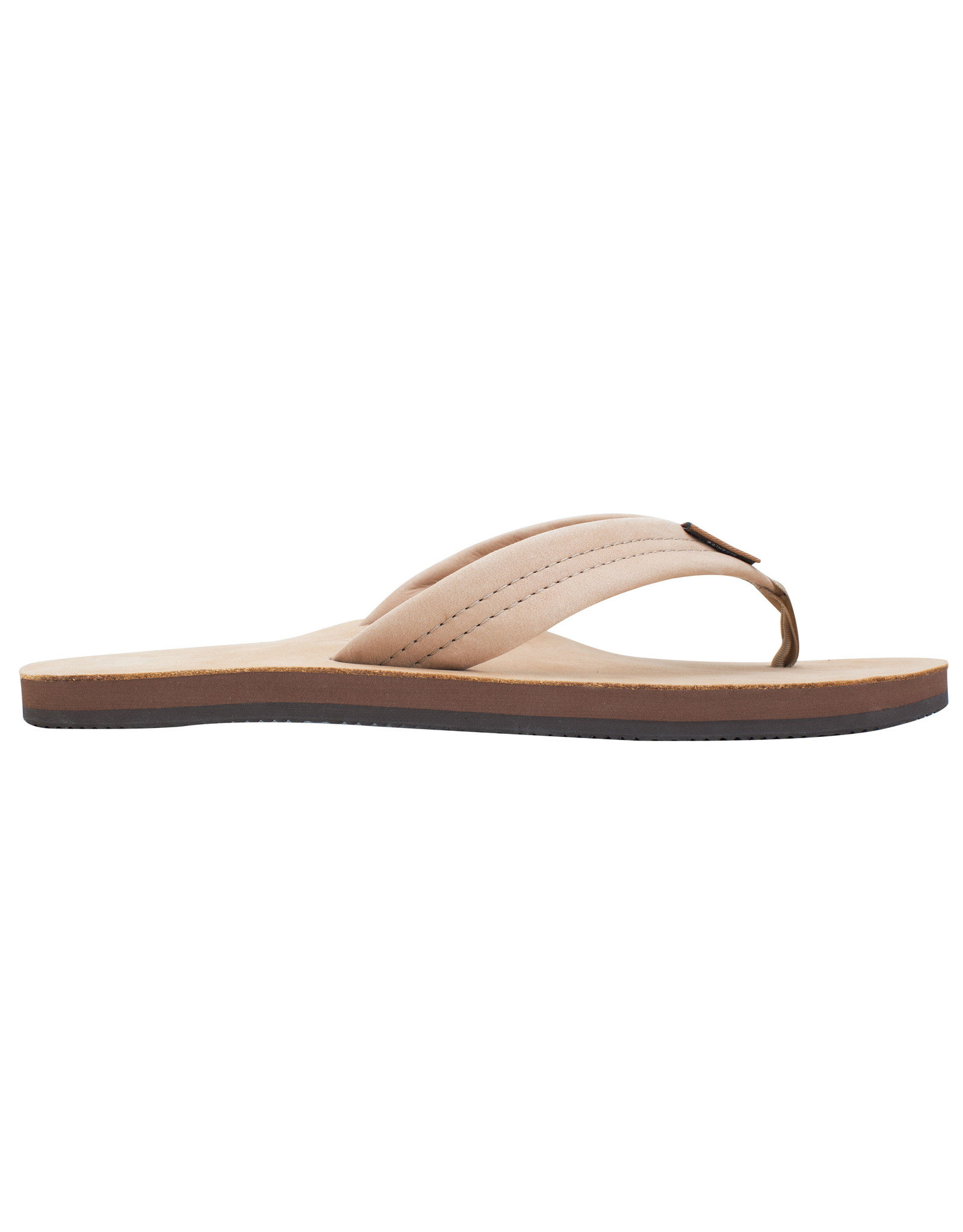 Rainbow Sandals Womens Premier Leather Single Layer Arch Sierra Brown