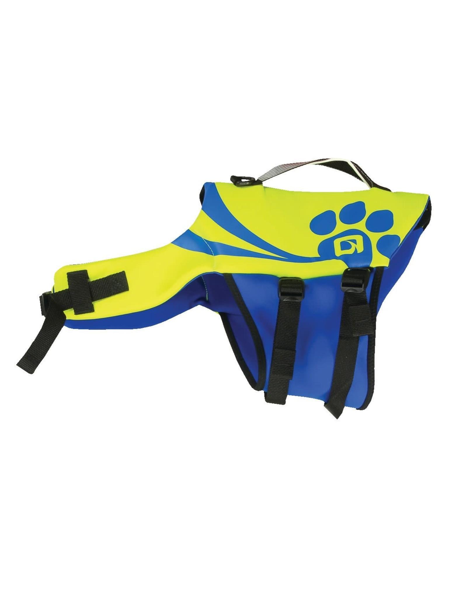 O'Brien Pet Vest - Yellow/Blue