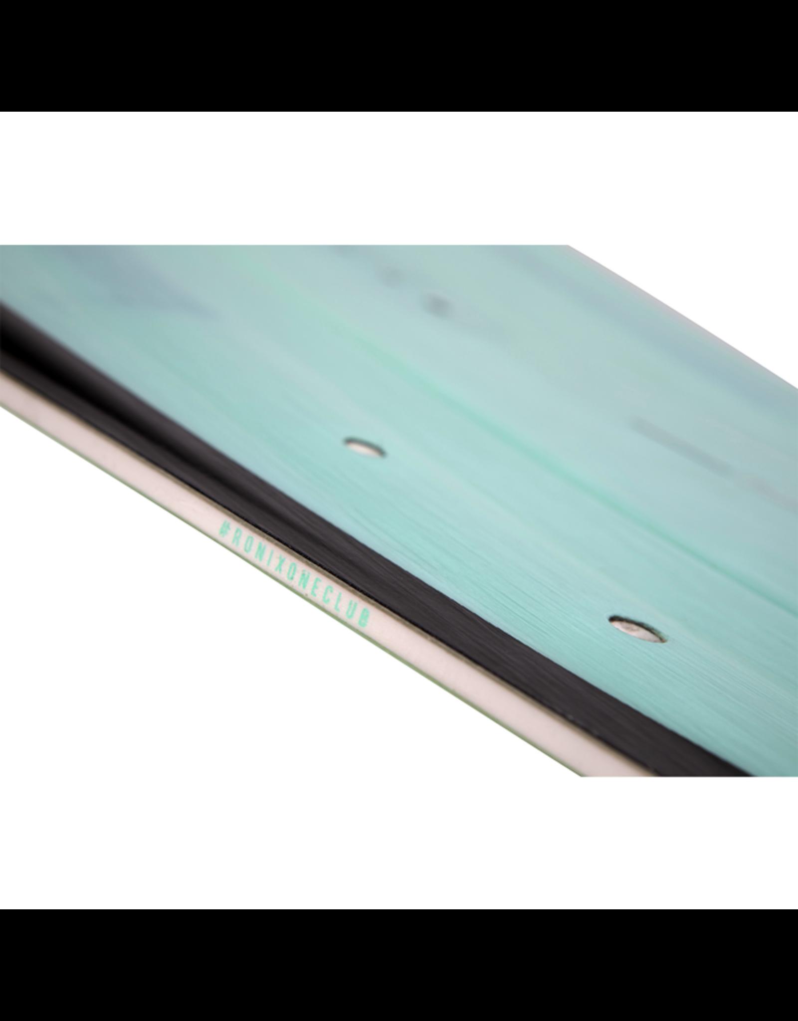Ronix 2021 One Blackout Technology Translucent Sea Foam Wakeboard