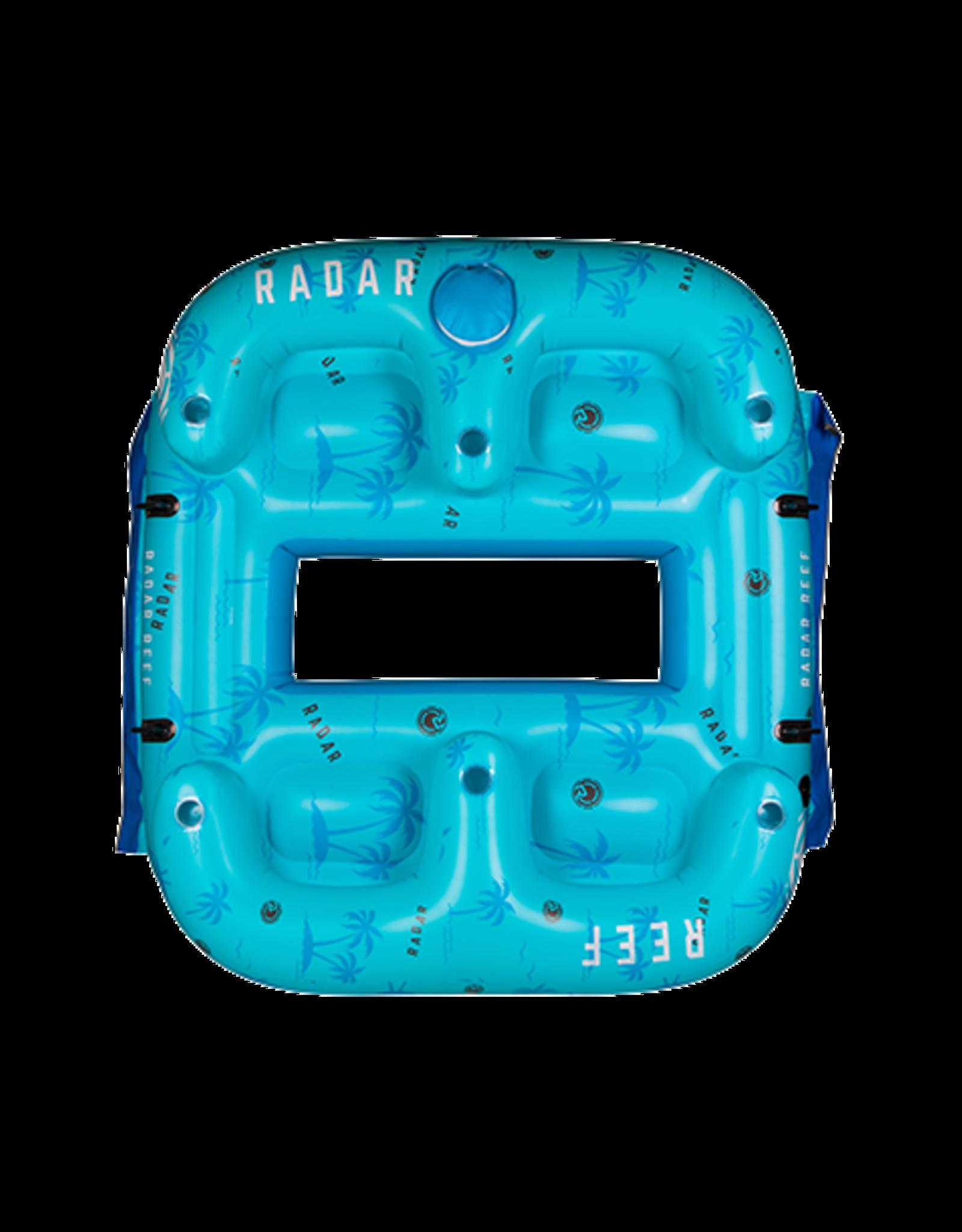 Radar Reef Lounge 4 Person Float
