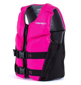 O'Brien Youth V-Back, Small Blk/Pink (55-75 lbs)