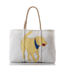 Sea Bag Tote Yellow Lab Medium
