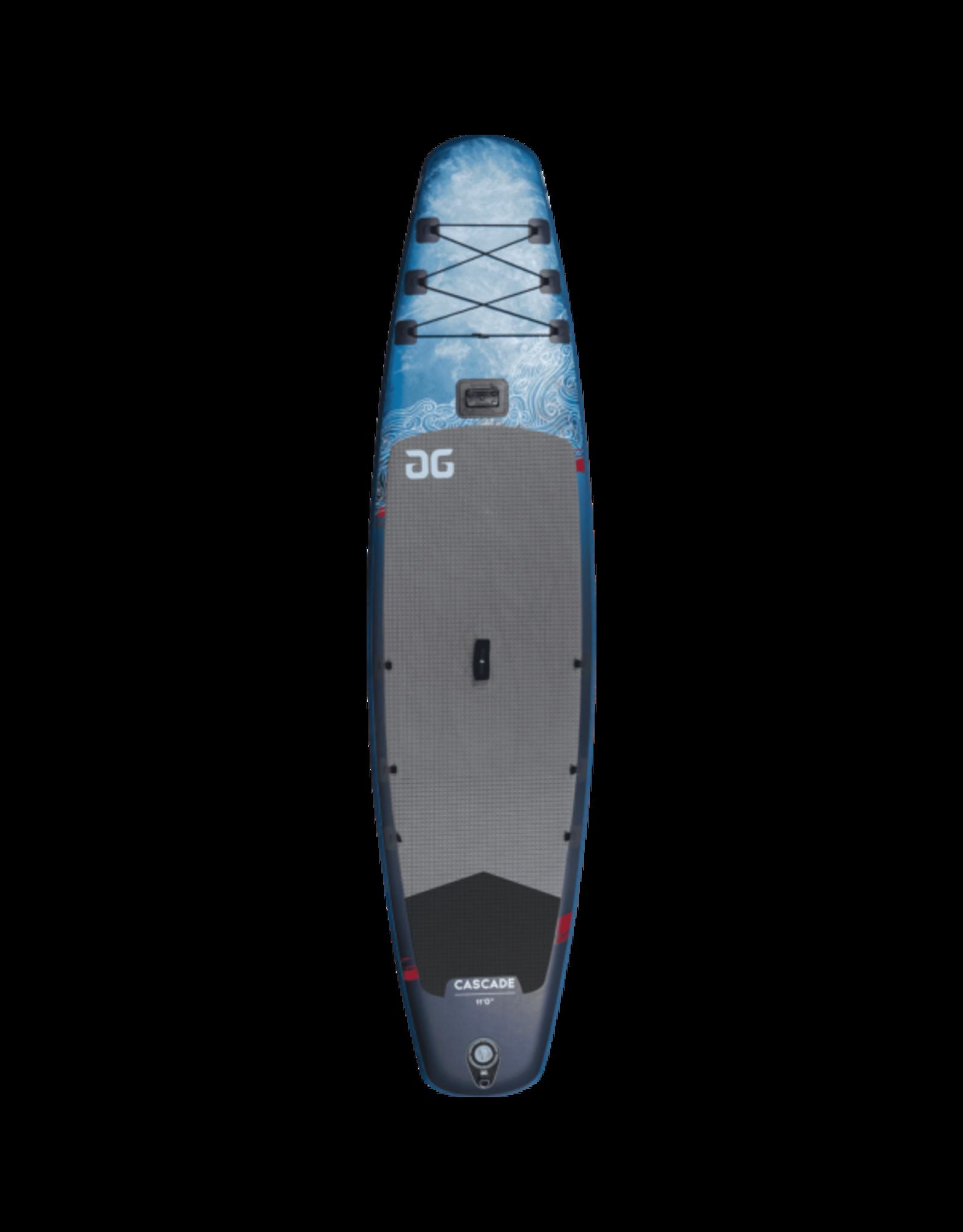Aquaglide 2021 Cascade 11'  PKG (Board + Wayfinder 3pc Leverlock)