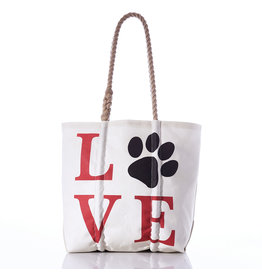 Sea Bag Love Paw Tote Medium