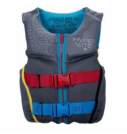HO/Hyperlite Boyz Youth Indy HRM Neo  Vest - Small (50 - 70 lbs)