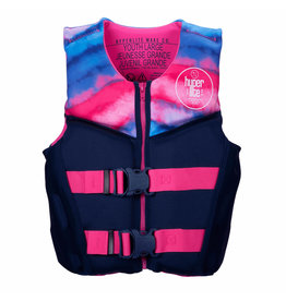 HO/Hyperlite Girlz Youth Indy HRM NEO Vest - Large (65 to 90 lbs)