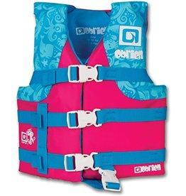 O'Brien Girls Child Nylon Vest (30-50 lbs) - Pink