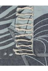 Sand Cloud Blue Swirl Waves Towel Regular
