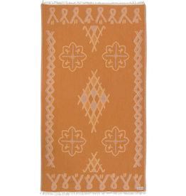 Sand Cloud Honey Stampled Moroccan Towel Regular