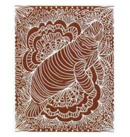 Sand Cloud Teracotta Manatee Towel - Large