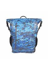 Geckobrands Paddler 30L Waterproof Backpack - Ocean Geckoflage