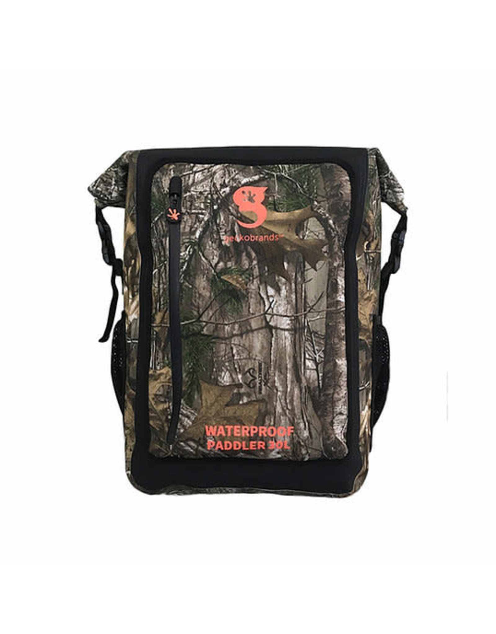 Geckobrands Paddler 30L Waterproof Backpack - Realtree Edge Camo