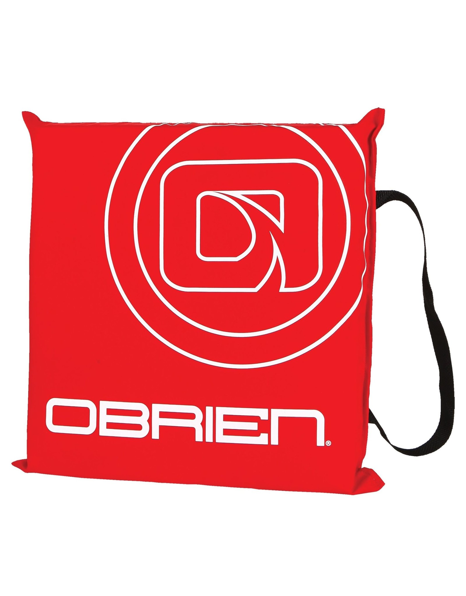 O'Brien Throw Cushion, Red