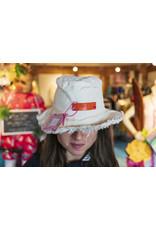Love Big Love Fringe Bucket - Cream / Orange