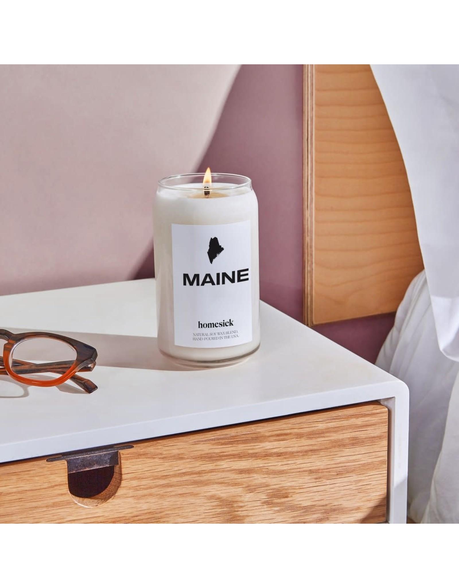 Homesick Maine Candle