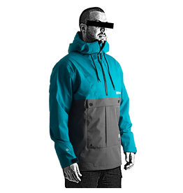 Follow LAYER 3.1 OUTER SPRAY ANORAK Teal