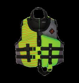 Ronix Vision - Boy's CGA Life Vest Lime Heather Child 30-50lbs