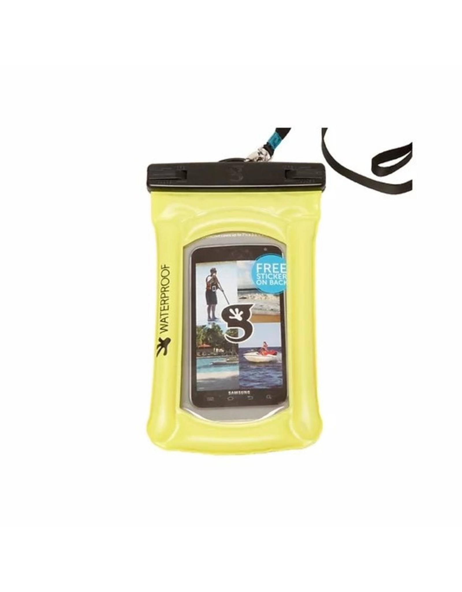 Geckobrands Float Large Phone Dry Bag - Green