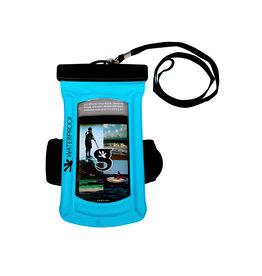 Geckobrands Float Large Phone Dry Bag - Neon Blue