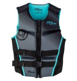 O'Brien Women's DK Vest Aqua Large